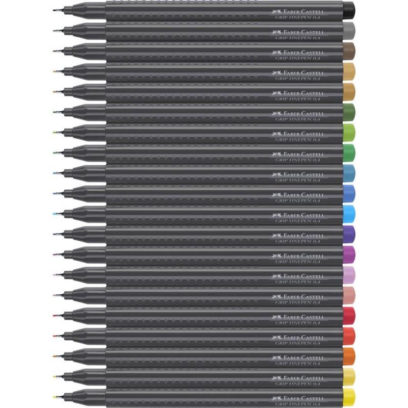 Liner 0.4mm Grip Faber-Castell  , violet