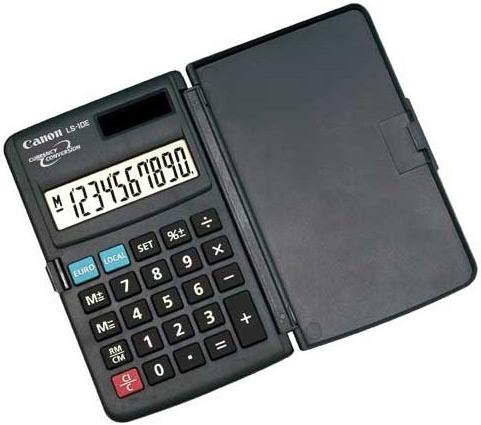 Calculator portabil, 10 digiti, CANON LS-10E