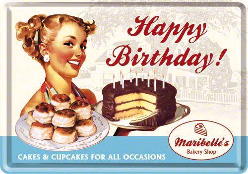 Carte postala, Happy Birthday