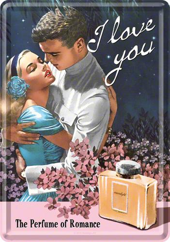 Carte Postala, I Love You Perfume
