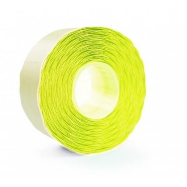 Etichete pt. marcatoare, 26 x 16mm, 1000 etichete autoadezive/rola, galben fluorescent, PRIX
