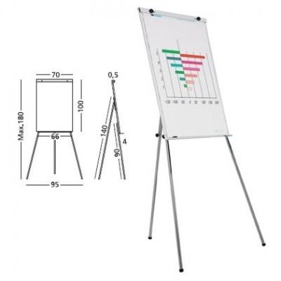 Flipchart magnetic ,70 x 100 cm, SMIT Budget