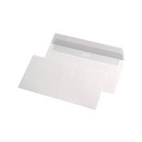 Plic DL, 110 x 220mm, siliconic, alb, 80 g/mp, fara fereastra, 25 buc/pachet
